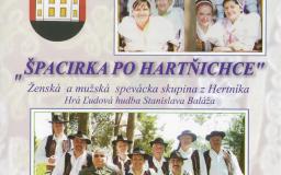 Ženská a mužská spevácka skupina z Hertníka
