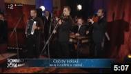 Čecov fogaš + rozhovor /live/, Slovensko 2014 Advent, RTVS, Bardejov, 2.12.2014